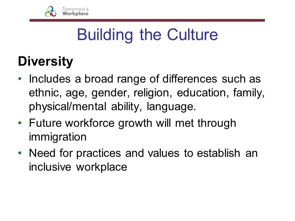 Building the Culture Diversity