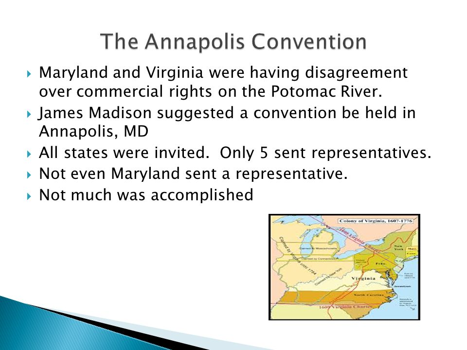 The Annapolis Convention