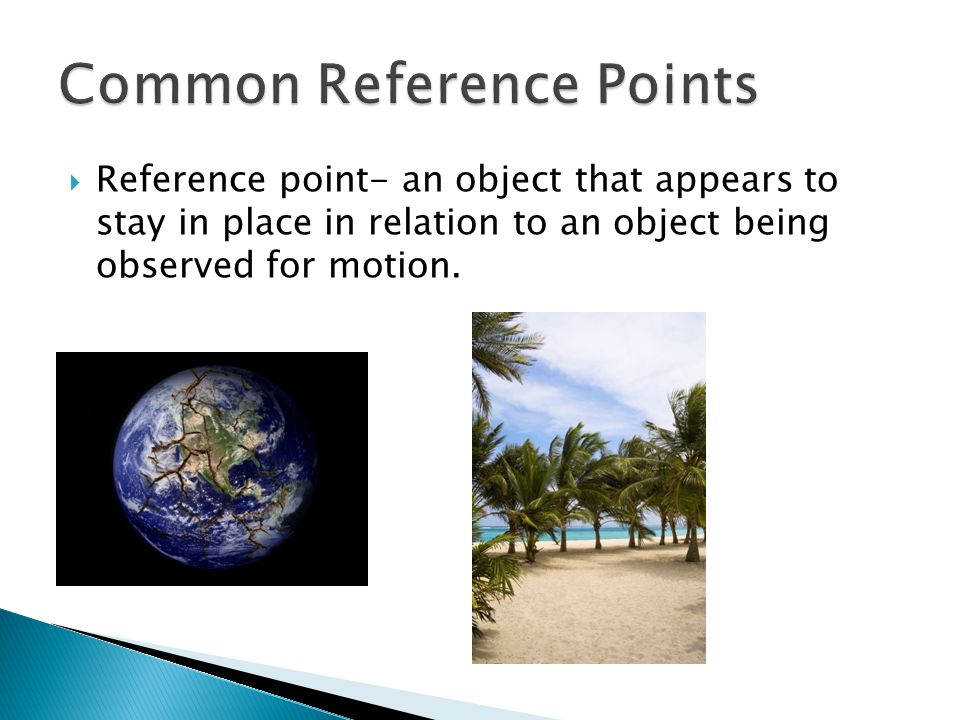 Common Reference Points
