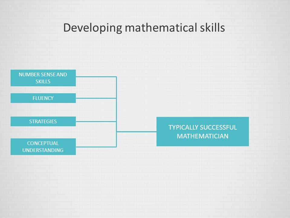Developing mathematical skills