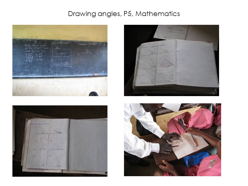 Drawing angles, P5, Mathematics