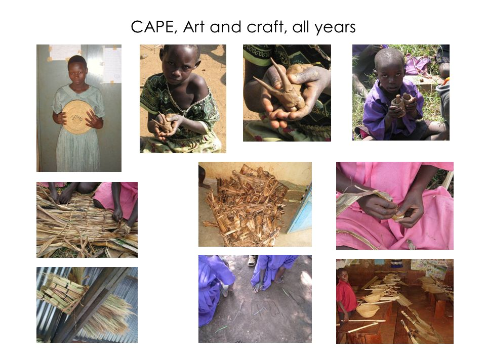 CAPE, Art and craft, all years