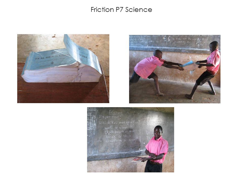 Friction P7 Science