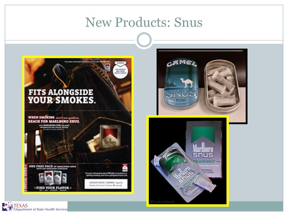 New Products: Snus