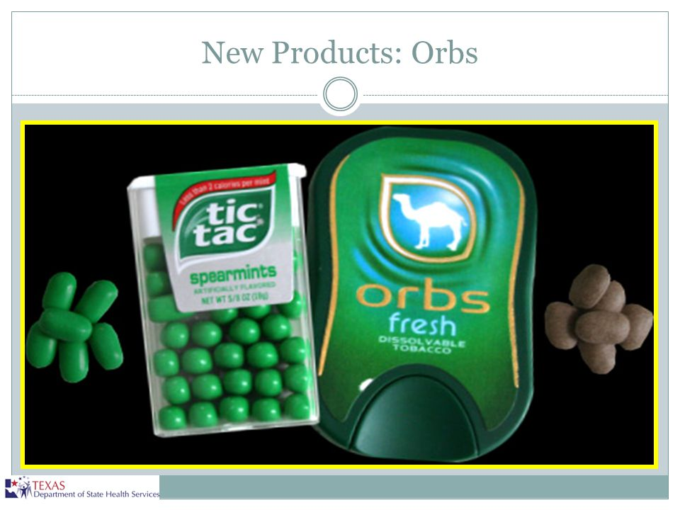 New Products: Orbs