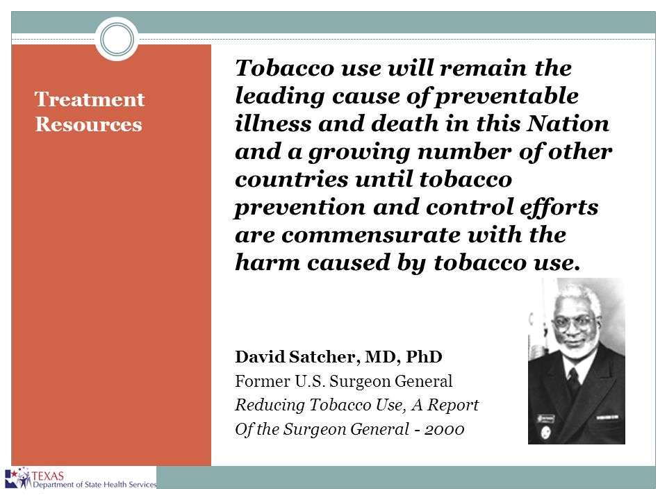 Tobacco use will remain the leading cause of preventable illness and death in this Nation and a growing number of other countries until tobacco prevention and control efforts are commensurate with the harm caused by tobacco use.