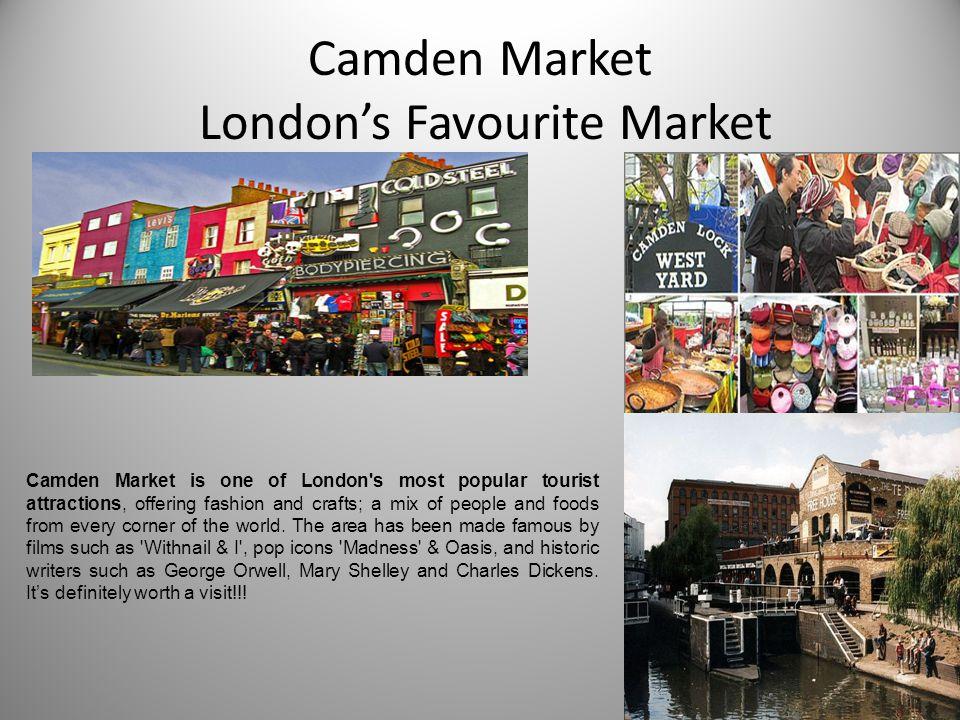 Camden Market London's Favourite Market