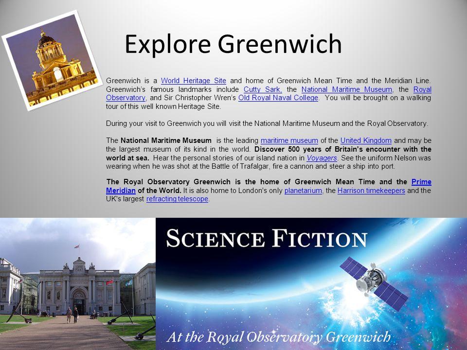 Explore Greenwich
