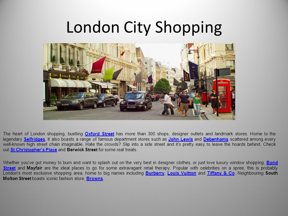 London City Shopping