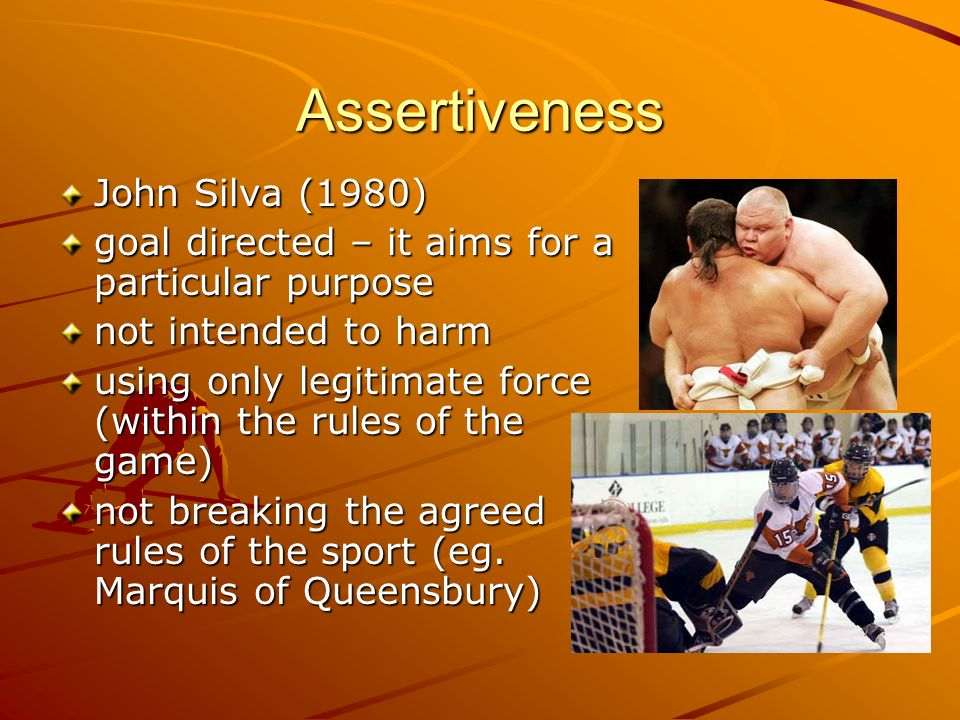 Assertiveness John Silva (1980)