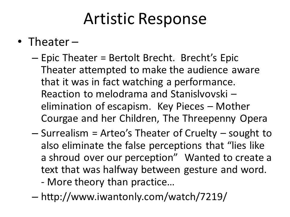 Artistic Response Theater –