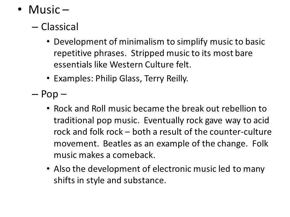 Music – Classical.