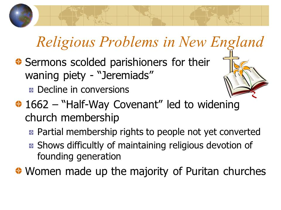 Religious Problems in New England