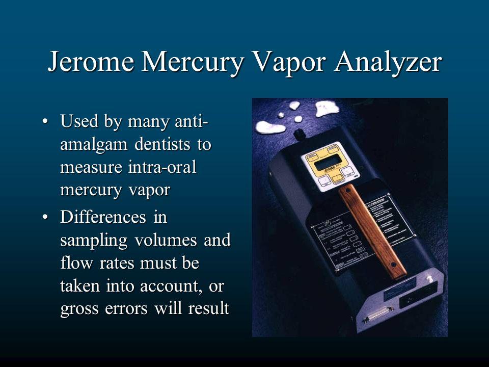 Jerome Mercury Vapor Analyzer