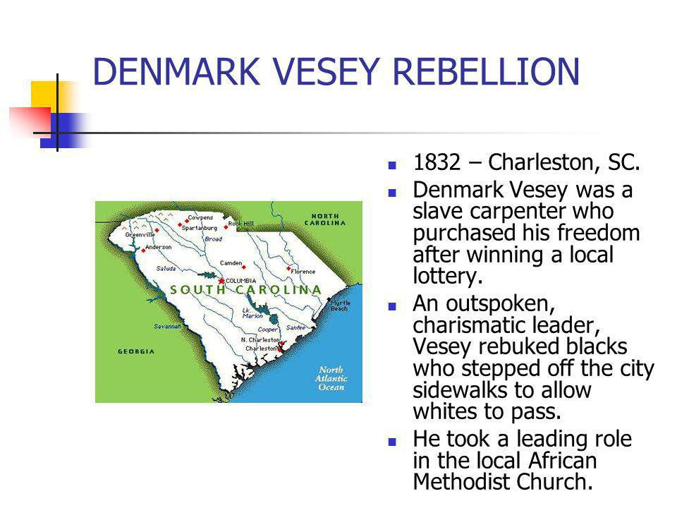 DENMARK VESEY REBELLION