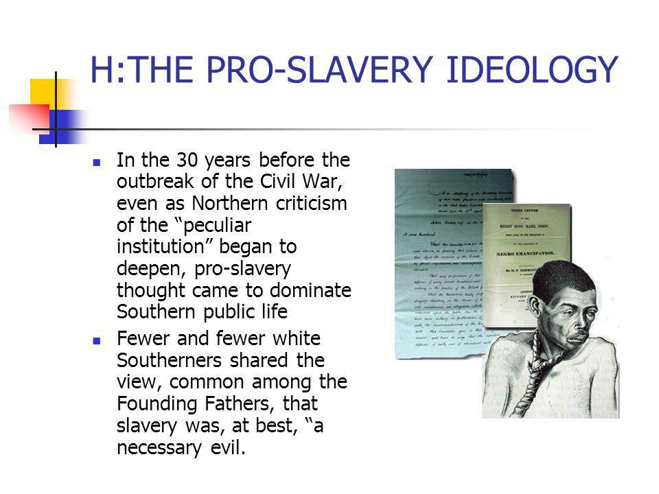 pro slavery essays A pro-slavery argument, 1857 how might that word affect his pro-slavery readers his anti in light of the freedom's story essays on slave labor and slave.