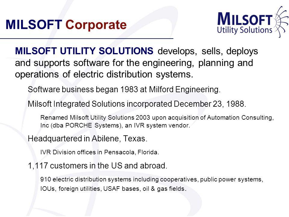 MILSOFT Corporate