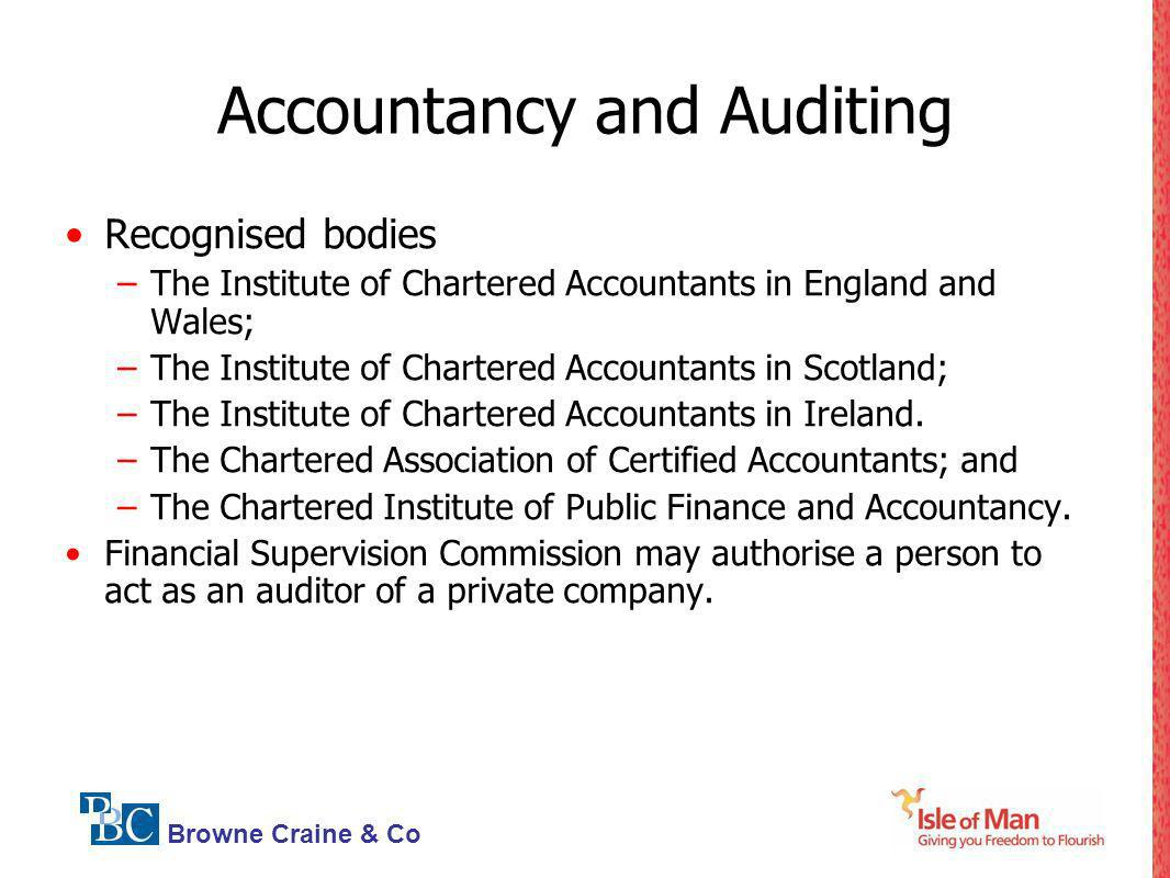 Accountancy and Auditing