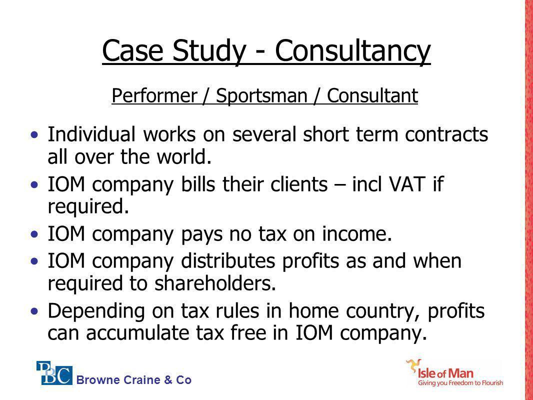 Case Study - Consultancy