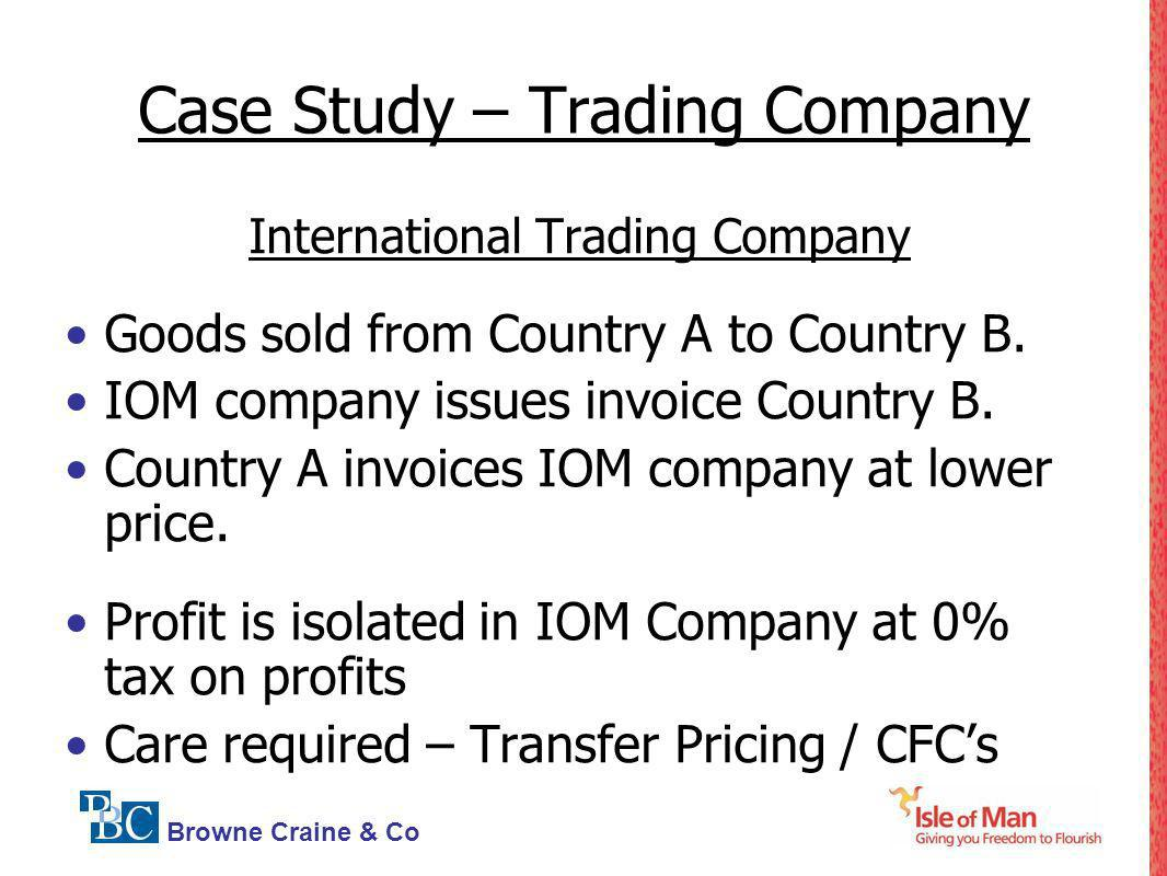 Case Study – Trading Company