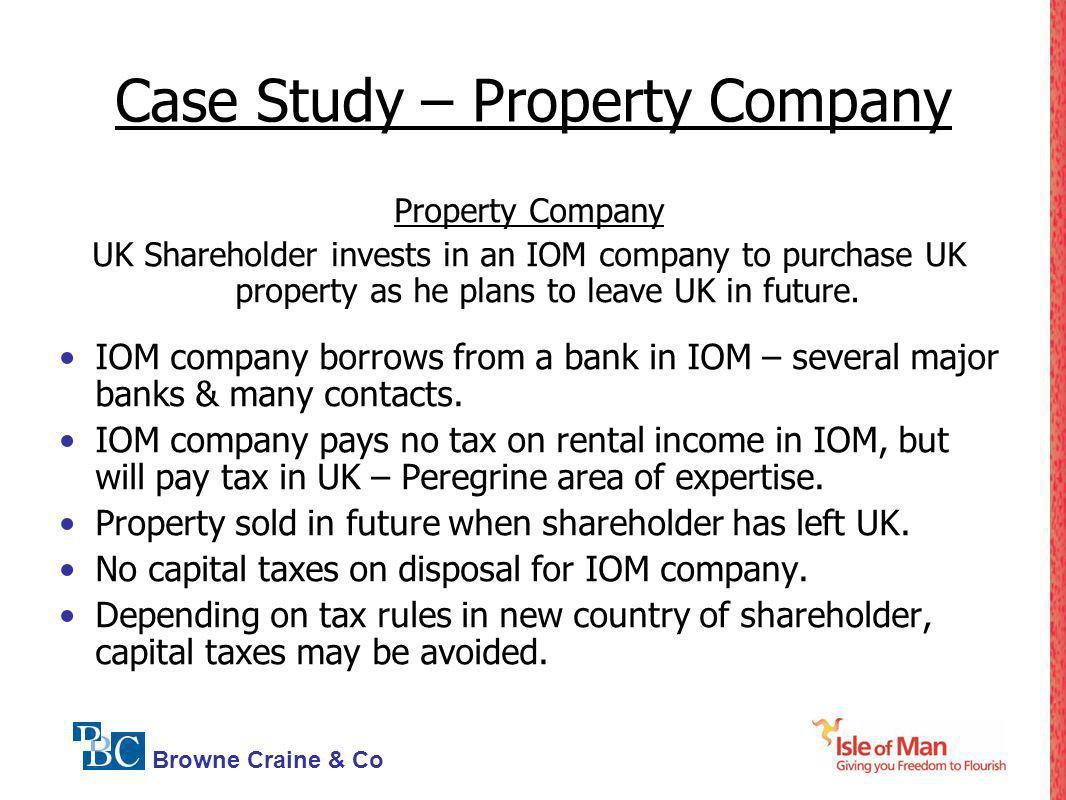 Case Study – Property Company