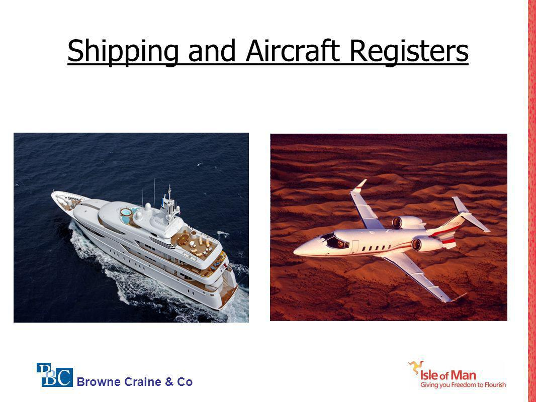 Shipping and Aircraft Registers