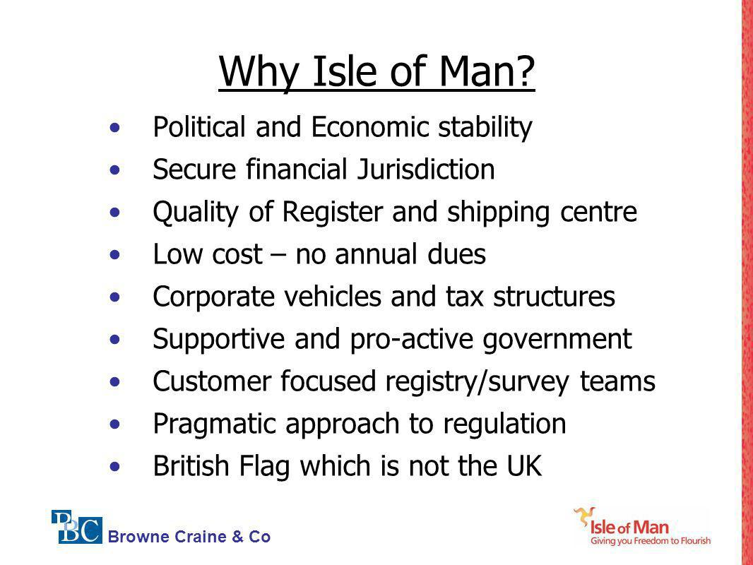 Why Isle of Man Political and Economic stability