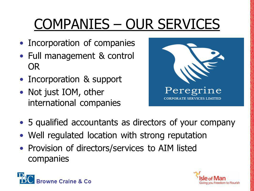 COMPANIES – OUR SERVICES