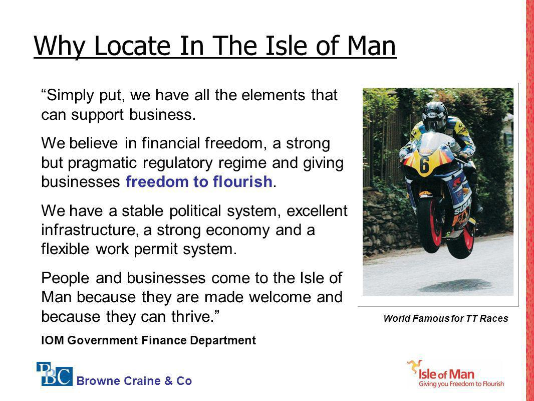 Why Locate In The Isle of Man
