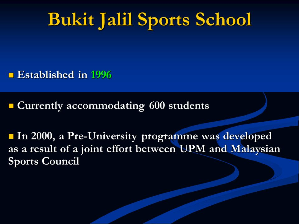 Bukit Jalil Sports School