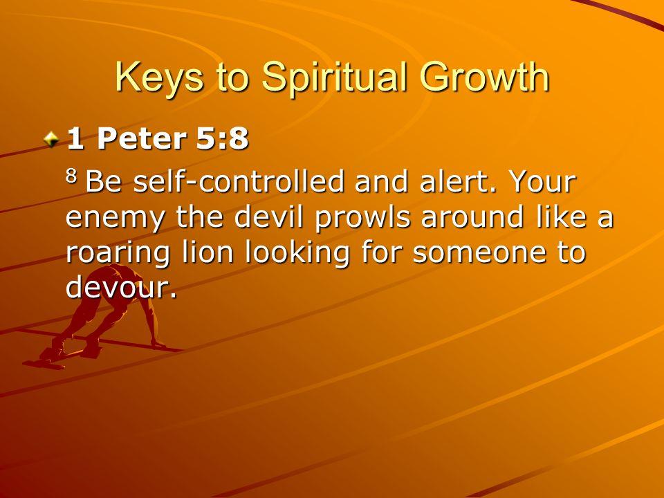 Keys to Spiritual Growth