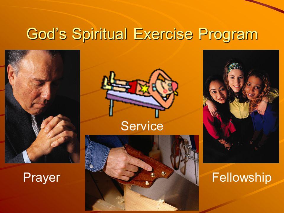 God's Spiritual Exercise Program