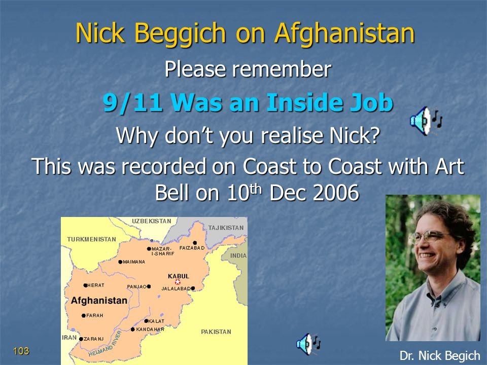 Nick Beggich on Afghanistan