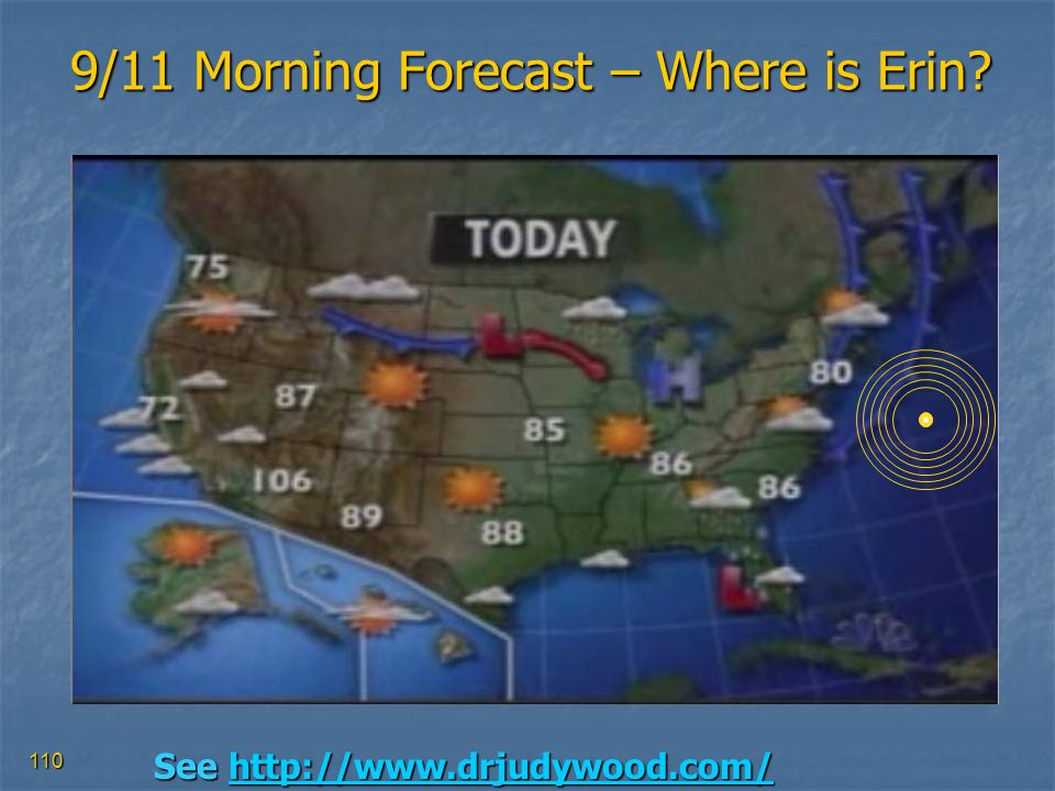 9/11 Morning Forecast – Where is Erin