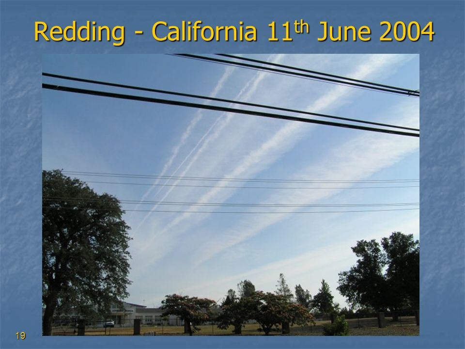 Redding - California 11th June 2004