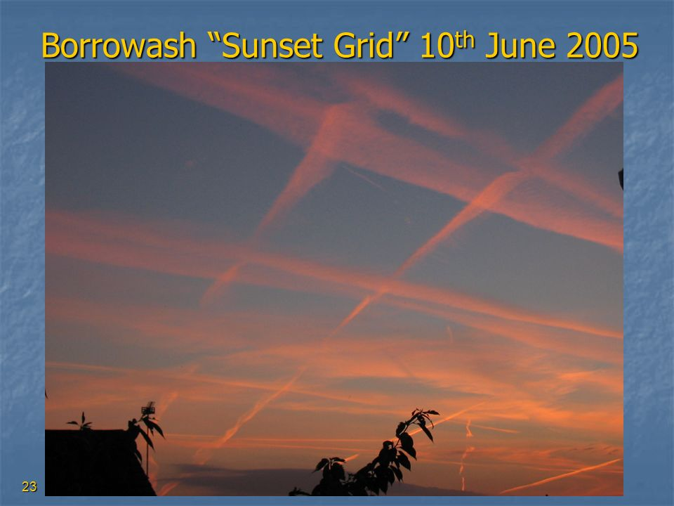 Borrowash Sunset Grid 10th June 2005