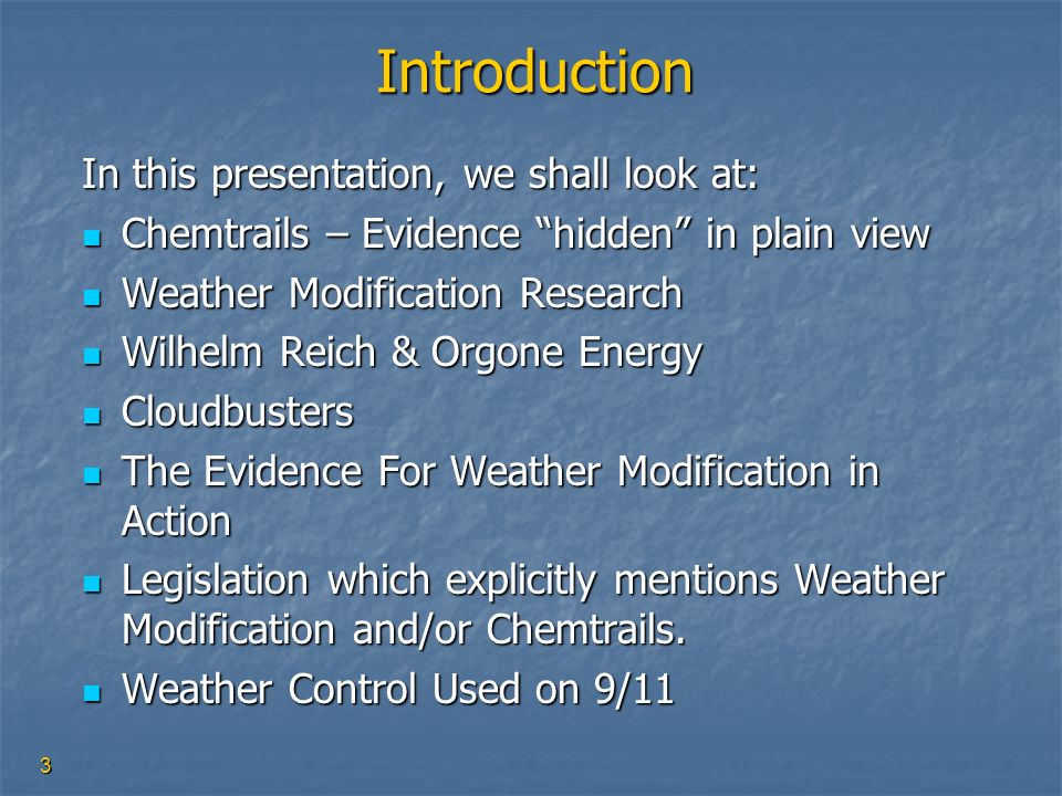 Introduction In this presentation, we shall look at: