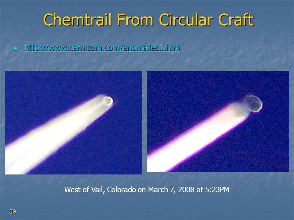 Chemtrail From Circular Craft