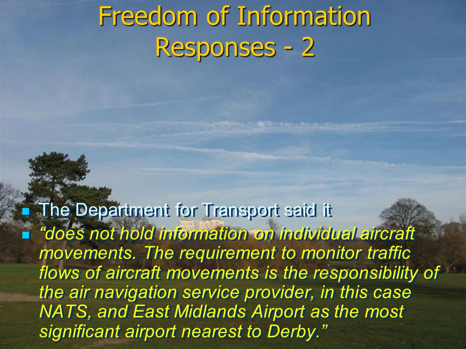 Freedom of Information Responses - 2