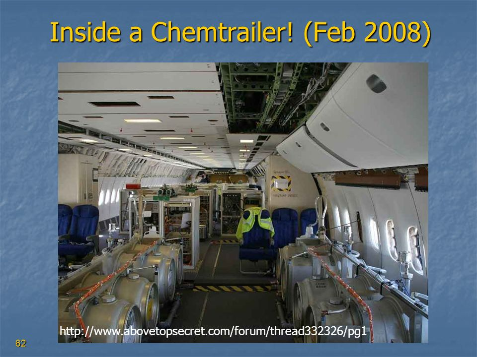 Inside a Chemtrailer! (Feb 2008)