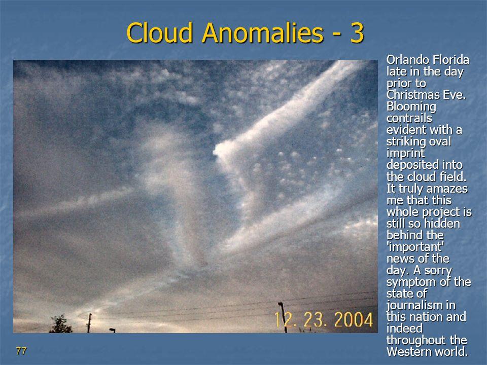Cloud Anomalies - 3