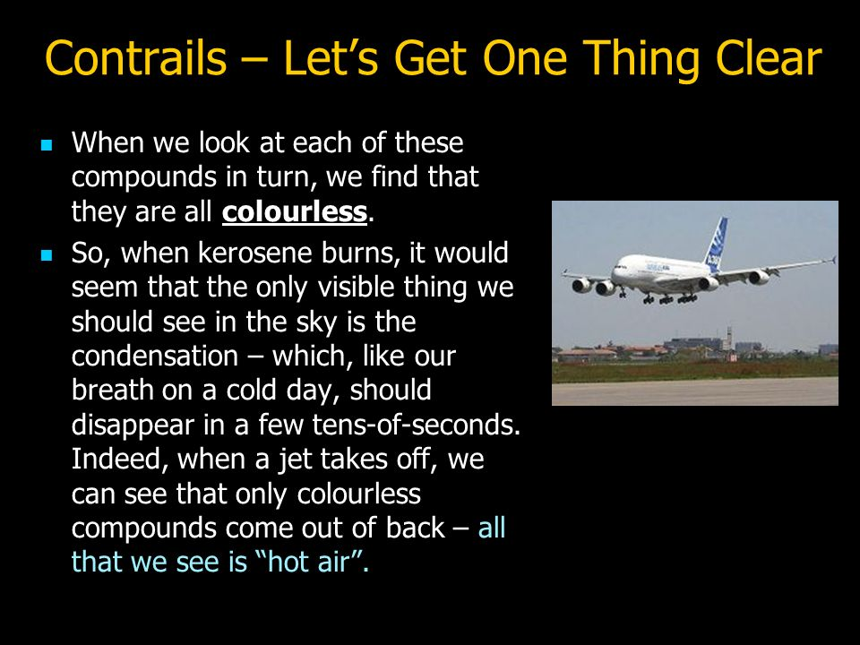 Contrails – Let's Get One Thing Clear