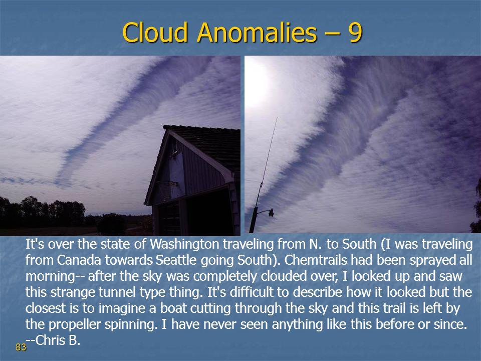 Cloud Anomalies – 9