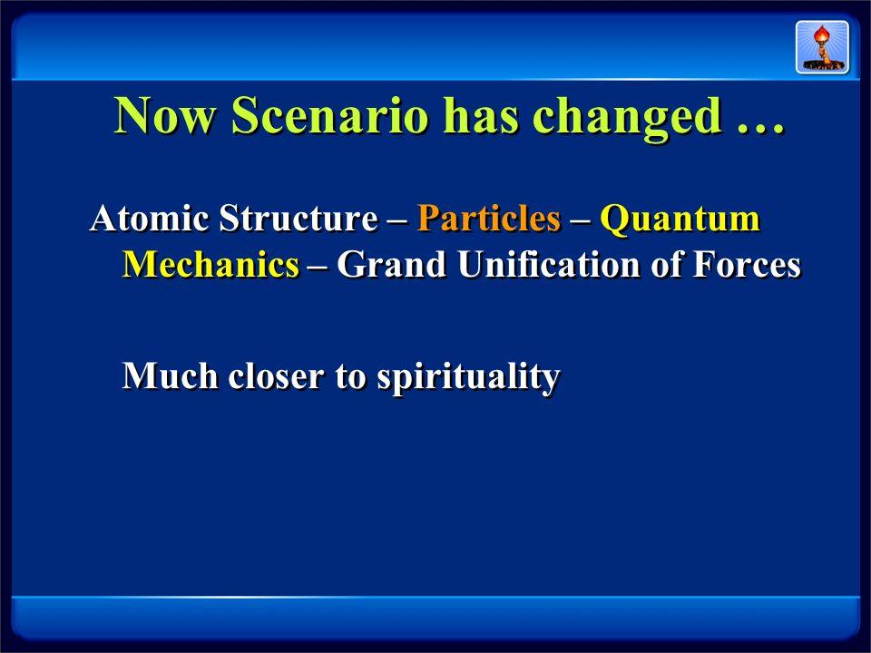 Now Scenario has changed …