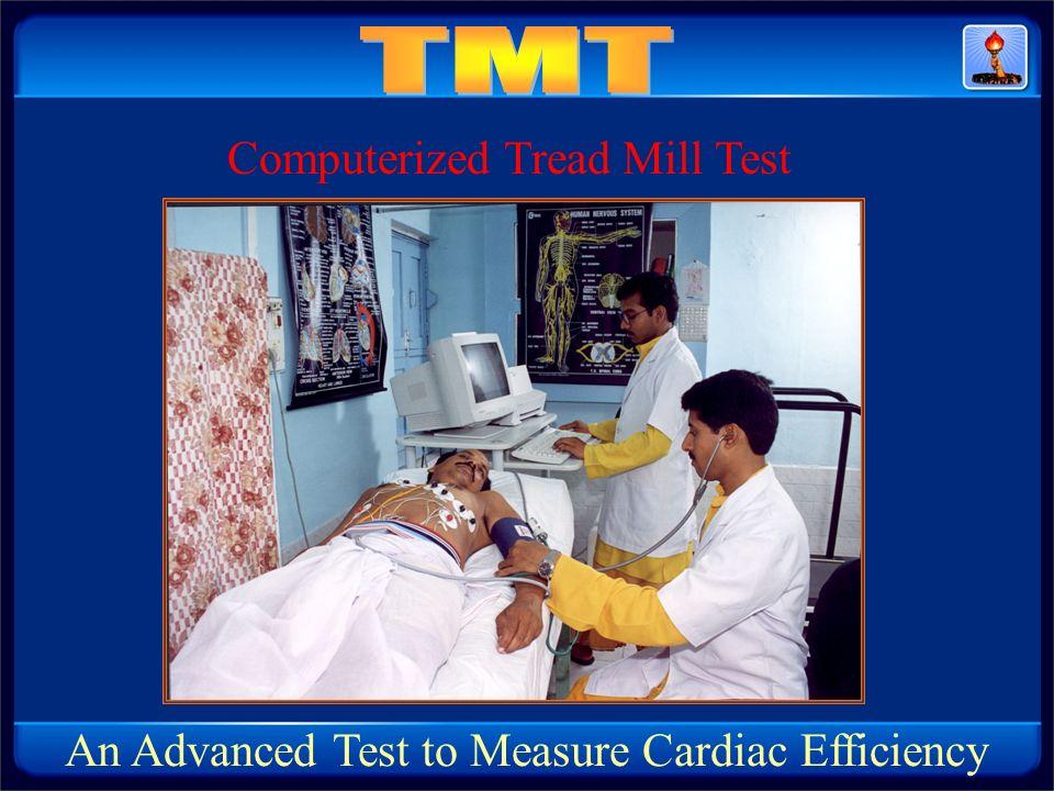 TMT Computerized Tread Mill Test