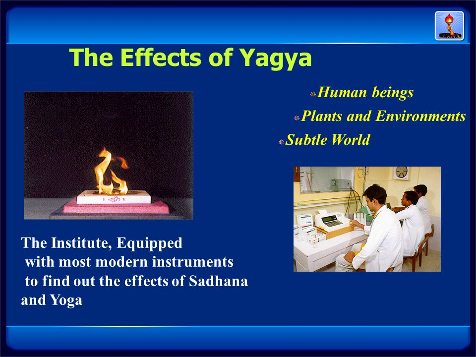 The Effects of Yagya The Institute, Equipped
