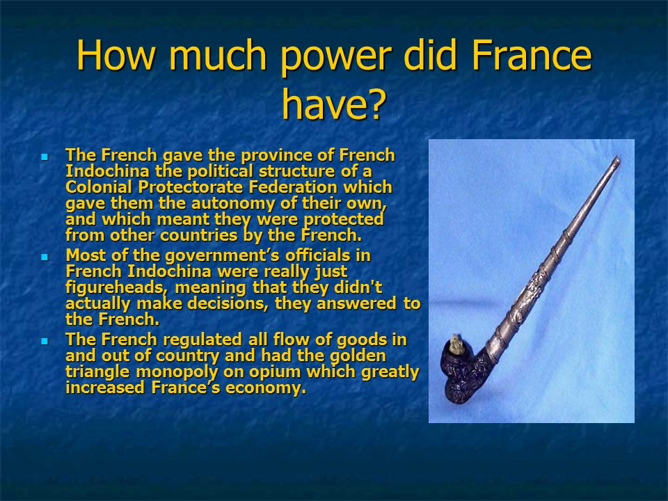 How much power did France have