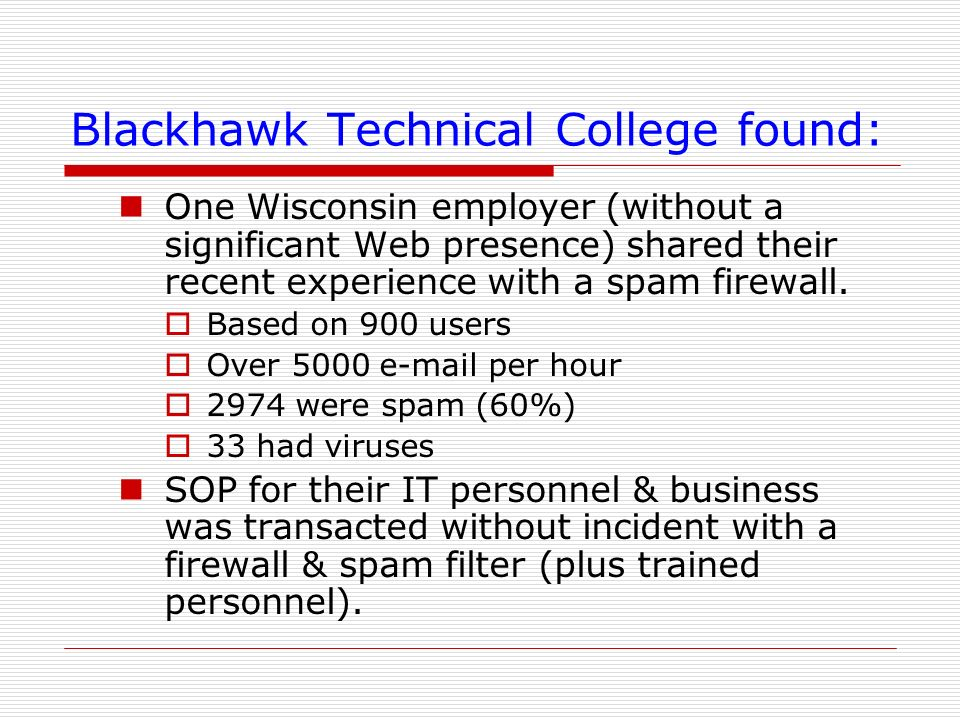 Blackhawk Technical College found: