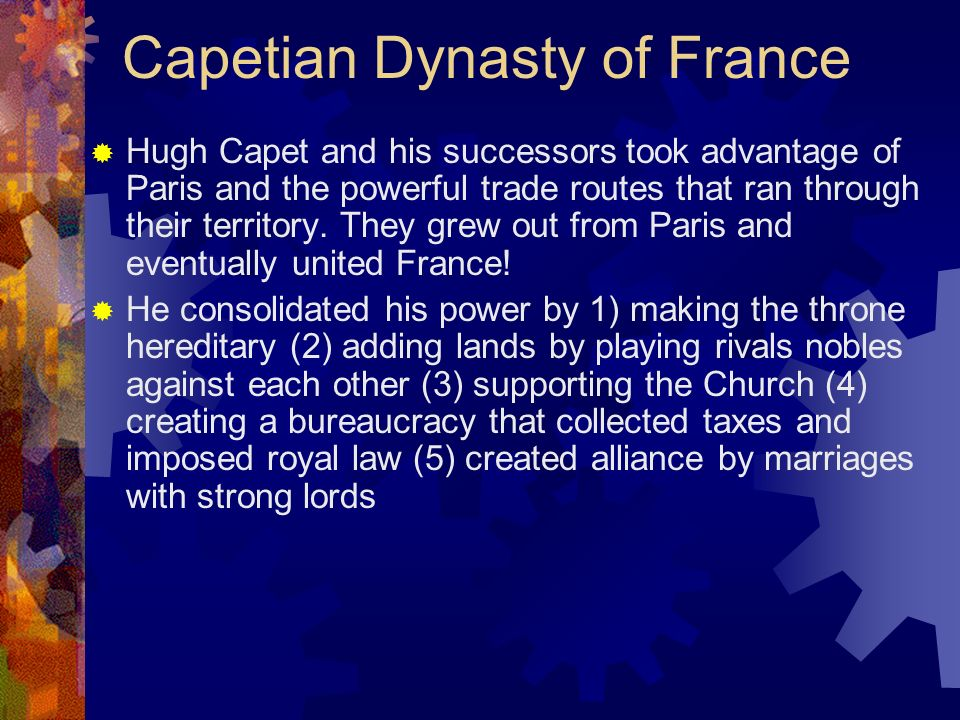 Capetian Dynasty of France