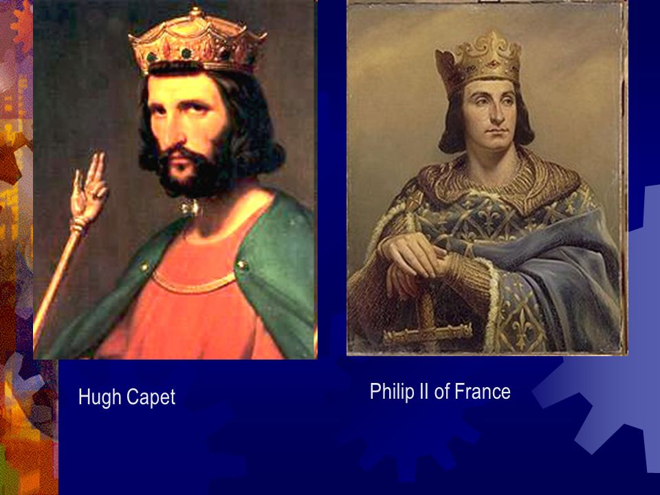 Philip II of France Hugh Capet